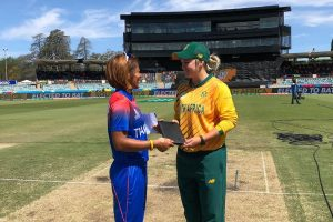 Women's T20 World Cup 2020: South Africa opt to bat against Thailand