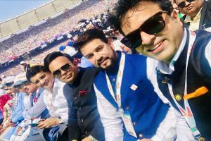 Sourav Ganguly, Jay Shah attend 'Namaste Trump' event at world's largest cricket stadium