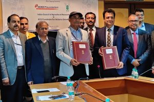 ICICI Foundation inks MoU with ICAR for rural growth and development