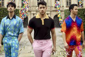 Jonas Brothers celebrate one year of comeback song 'Sucker'