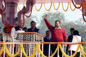 Arvind Kejriwal takes charge as Chief Minister of Delhi day after swearing-in