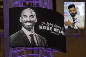 'When someone passes away like that, it puts things in perspective,' says Virat Kohli on Kobe Bryant