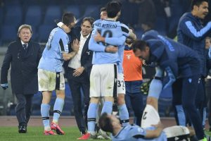 Serie A: 'Nothing to lose' Lazio topple Inter to go second behind Juventus