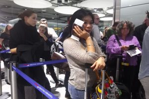 Travel chaos after technical failure at London airport