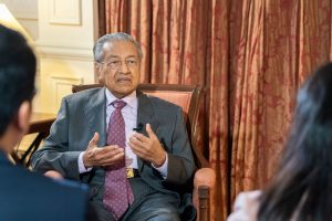 Malaysian govt party rejects PM Mahathir's resignation