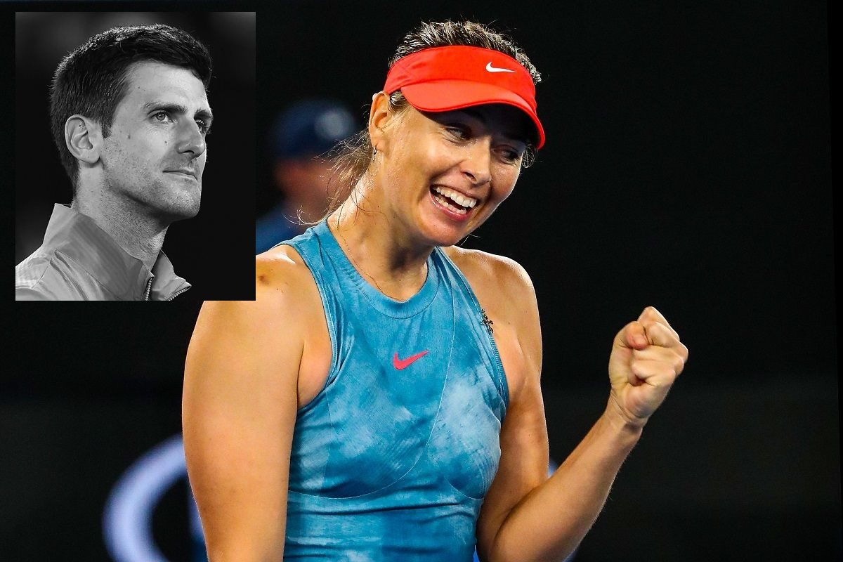 Maria Sharapova, Novak Djokovic,