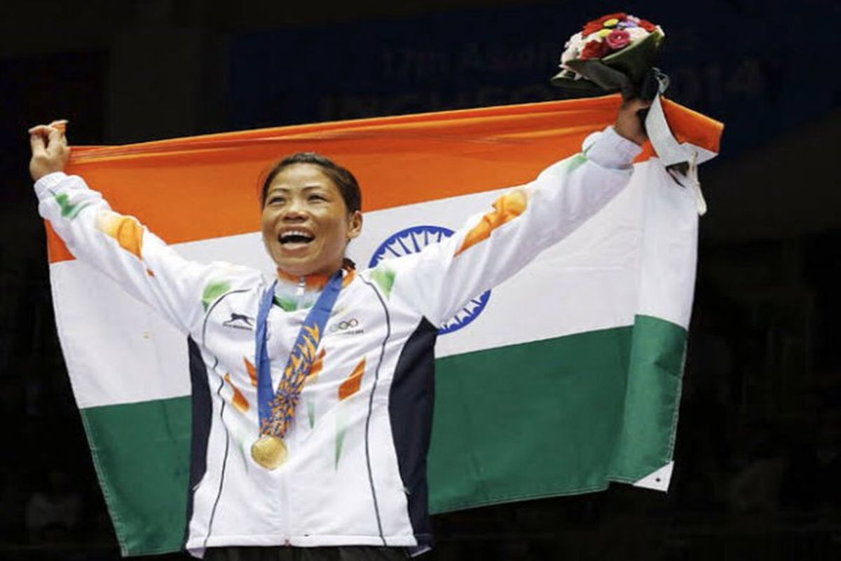'Will not give up until I win the gold for India at the Olympics,' says Mary Kom