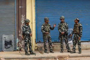 Security beefed up, flag march conducted by police in Meerut in view of Delhi violence