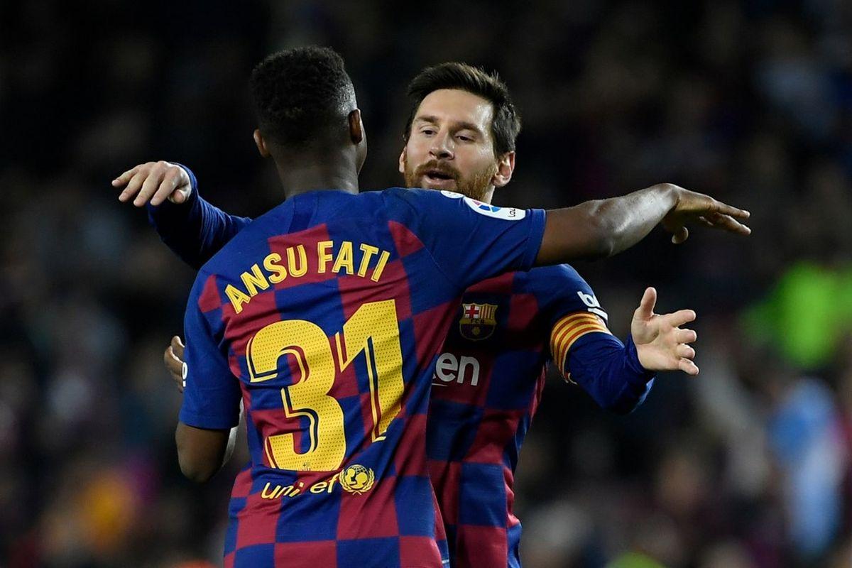 Ansu Fati, Lionel Messi, Barcelona, Levante, Juanmi Jimenez, Real Zaragoza, Quique Setien, La Liga