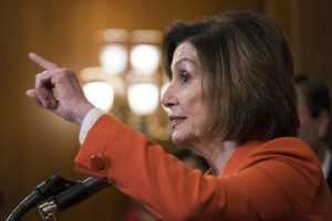 Nancy Pelosi defends tearing copy of Donald Trump's speech