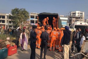 Building collapses in Punjab's Mohali, many feared trapped; rescue ops on