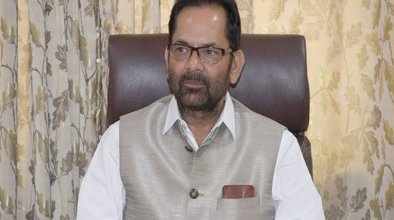 Mukhtar Abbas Naqvi asks Muslims to offer Shab-e-Barat prayers from indoors