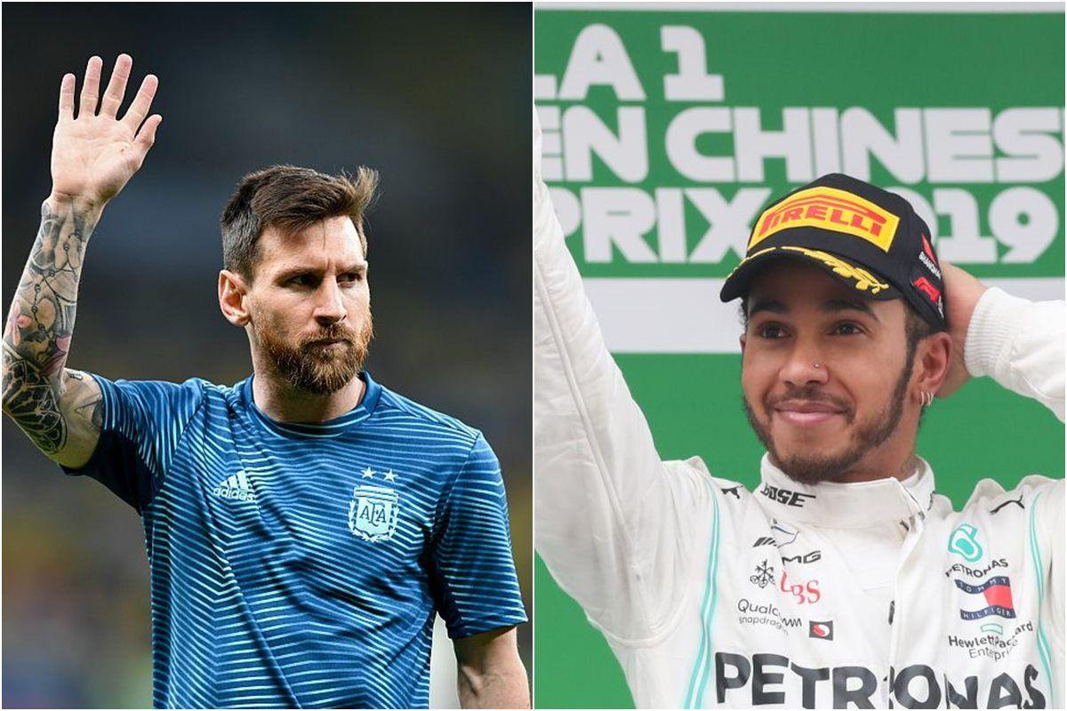 Lionel Messi, Lewis Hamilton, Laureus Sportsman Award,