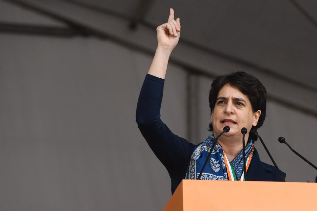 Priyanka Gandhi questions government for over Rs 100 crore expenditure on Trump's visit