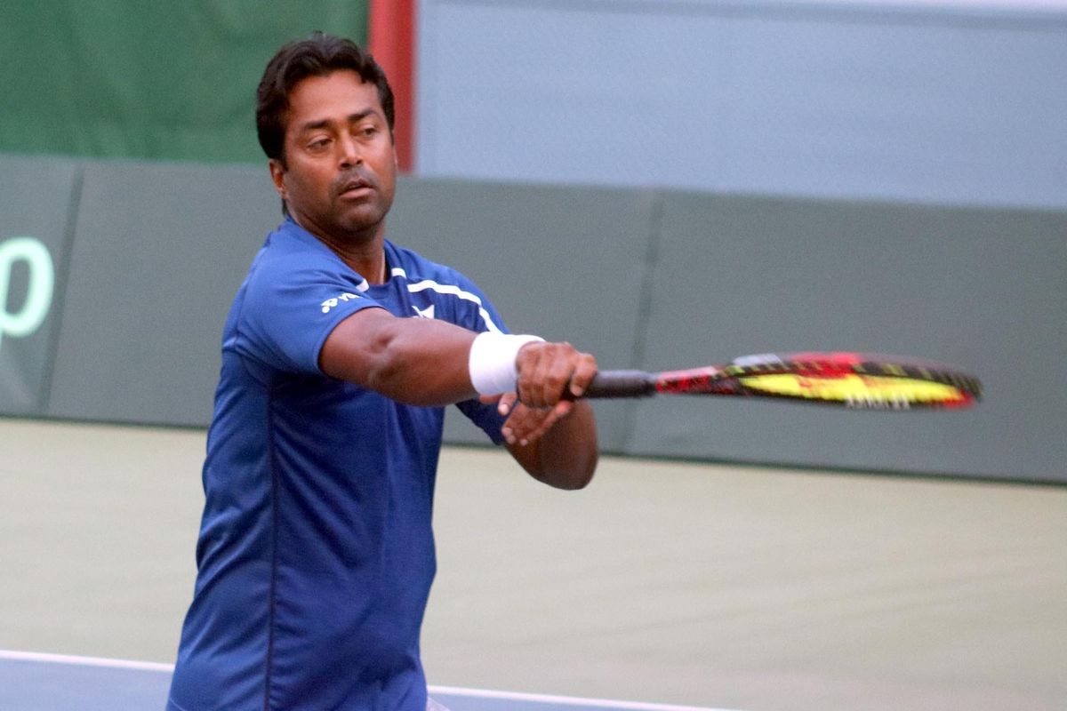 Leander Paes given a befitting farewell at Bengaluru Open