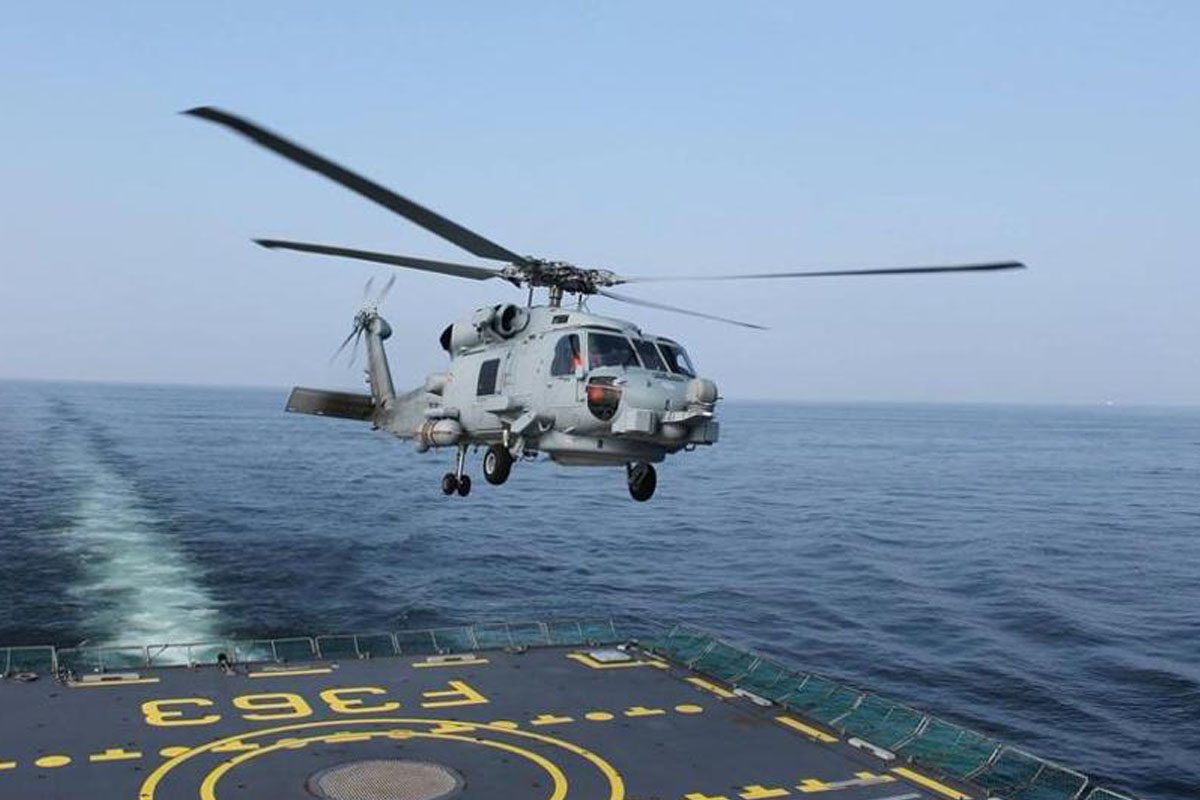 Indian Navy, 24 MH, 60R MR, Multi Role Helicopters, MRH, Sea King 42/42A, Indian Ocean, Make in India, MH-60R
