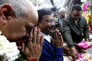 'Kejriwal visiting Hanuman temple since his first election, nothing new,' says priest