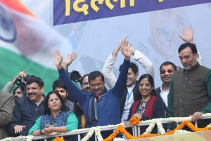 Delhi polls result: PM Modi, Rahul Gandhi congratulate Arvind Kejriwal