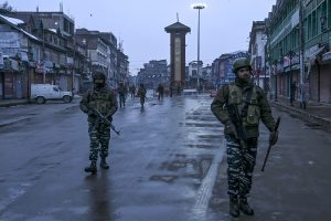 Three terrorists killed in encounter with security forces in Jammu-Kashmir