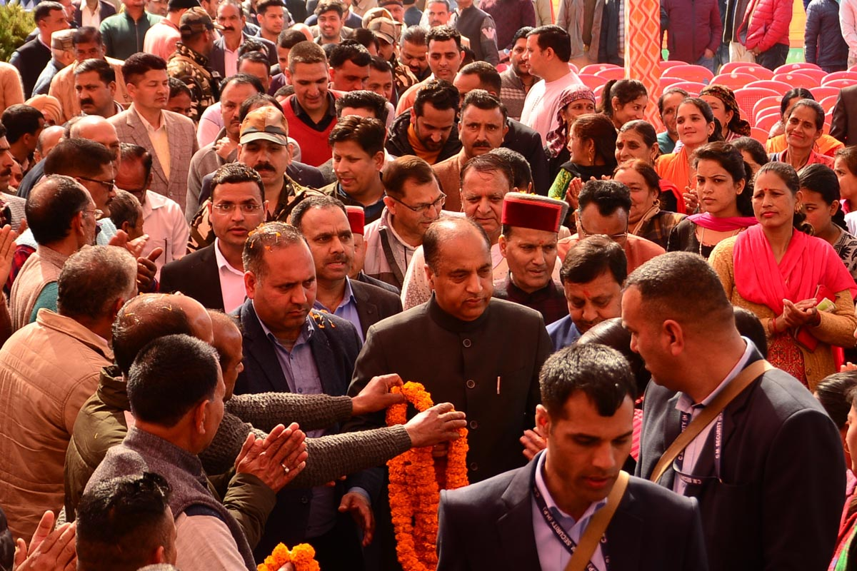 Himachal committed to double farmers income by 2022: Jai Ram