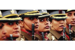 Women officers in command roles