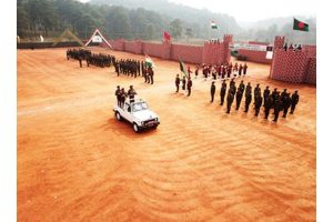 Joint India, Bangladesh military drill concludes