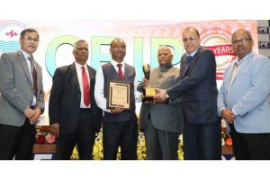 SJVN gets best hydro power company award