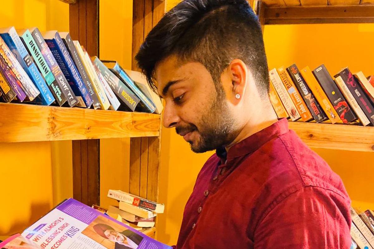 Digital marketing expert Shubham Jain strongly believes in hard work