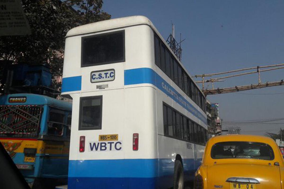 Double decker buses, City of Joy, Kolkata, Howrah, TMC, Bengal, West Bengal