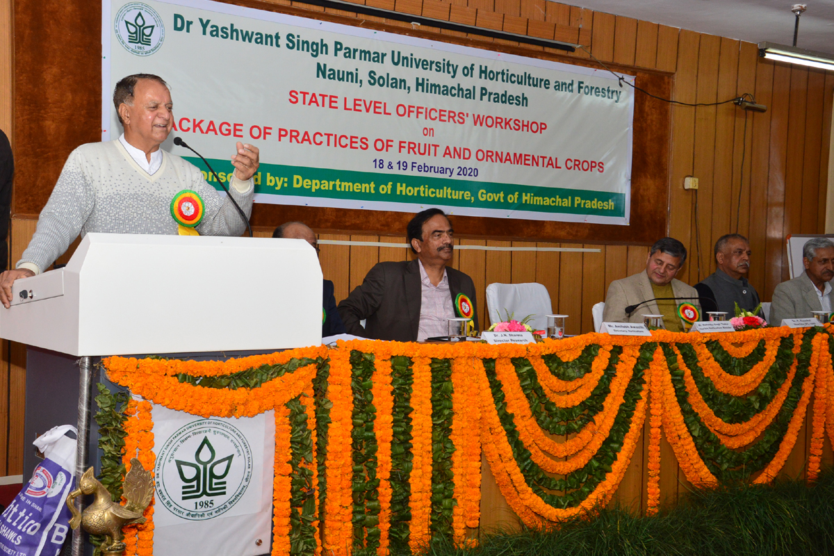 Solve problems of small growers for horticulture growth in HP, minister tells officers