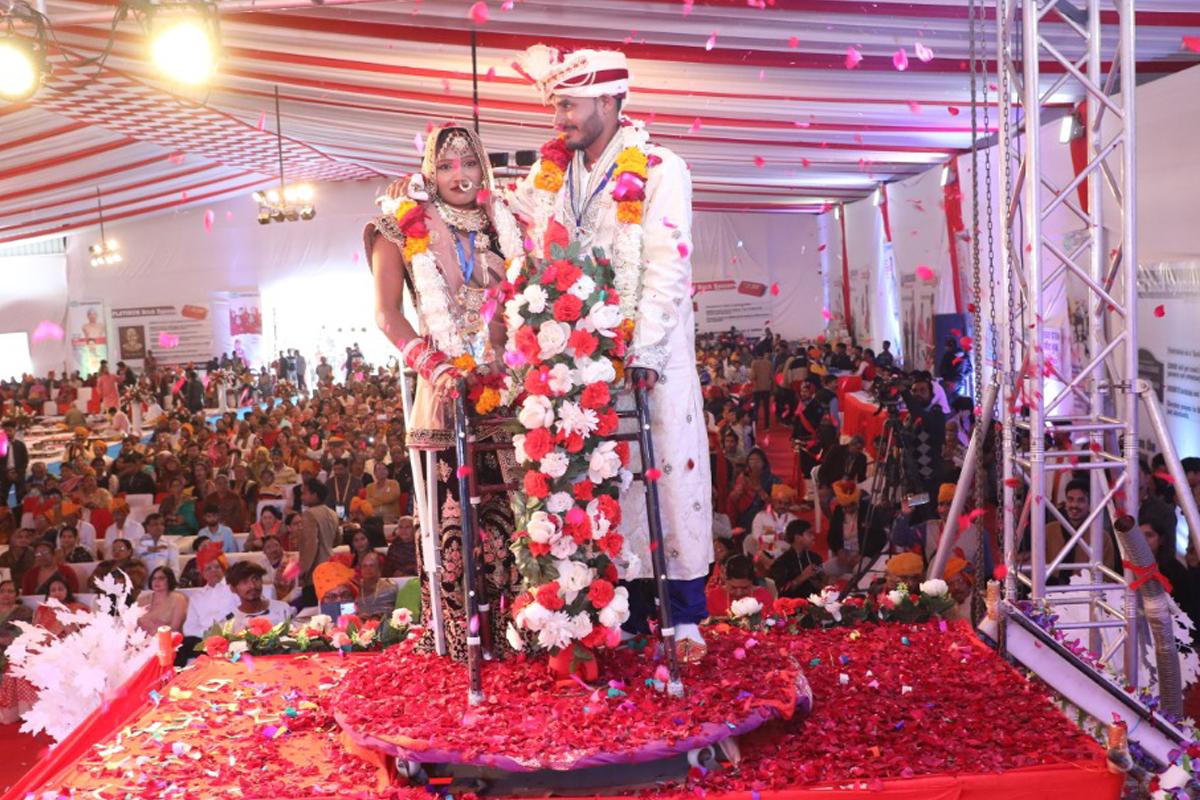 Wedding ceremony, Jaipur, Rajasthan, Udaipur, Narayan Seva Sansthan