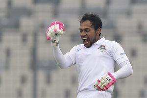 Bangladesh's Mushfiqur hits double ton to corner Zimbabwe