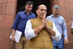 Defence Minister Rajnath Singh condoles death of 17 soldiers in Sukma Maoist attack
