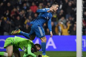Cristiano Ronaldo marks 1,000th game with record-equalling goal