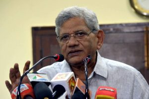 Repeated firings at protest sites due to PM's 'continued silence' on hate speeches: Sitaram Yechury
