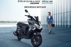Suzuki Burgman Street 125 BS6 launches in India at Rs 77,900