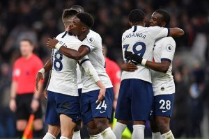 Tottenham Hotspur weather Manchester City storm to snatch win
