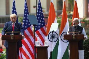 Donald Trump visit sees three pacts, $3 bn defence deal, invites India Inc to invest in US