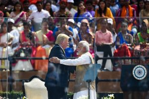'US respects India, will be loyal ally': Donald Trump thanks 'great friend Modi' at Motera