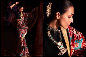 Malaika Arora makes heads turn as she opts for ethnic look