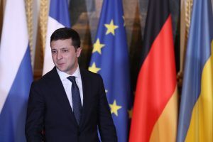 Mike Pompeo, Ukraine President Zelensky meet amid Trump impeachment trial