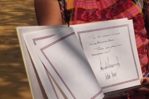 Congress criticises Trump for not mentioning Mahatma Gandhi in Sabarmati Ashram's visitor book