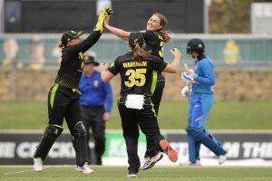Women's T20I Tri-Nation Series: India succumb to 4-wicket defeat against Australia
