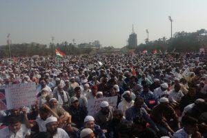 'Maha-Morcha' at Mumbai's Azad Maidan against CAA, NRC, NPR