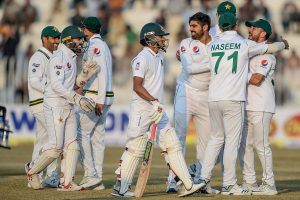 Bangladesh bundled for 233 on first day of one-off Test against Pakistan