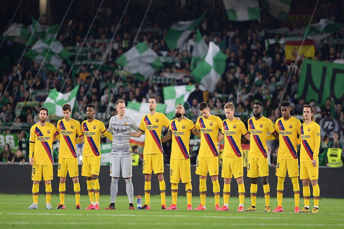 Barcelona, Real Betis, Lionel Messi, La Liga 2019-20