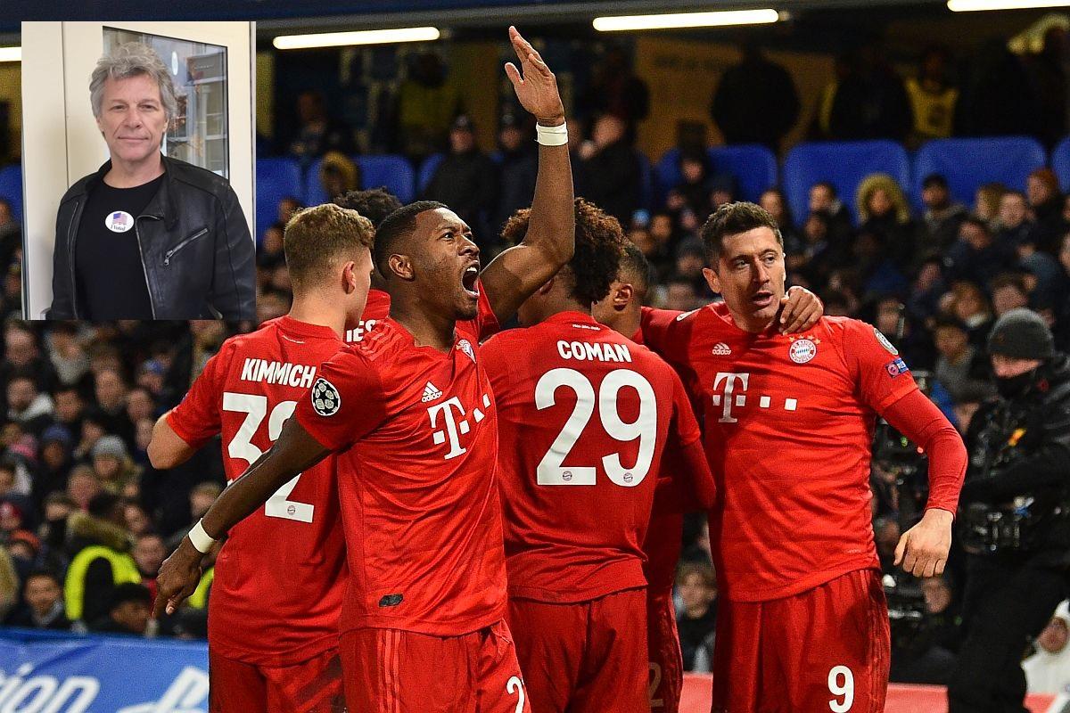 Jon Bon Jovi, Bayern Munich, Chelsea, UEFA Champions League 2019-20, Bayern Munich vs Chelsea, Bayern Munich vs Chelsea Champions League