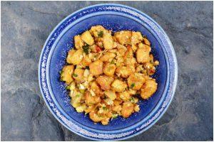 Quick and healthy veggie – Methi-matar-soya chunks