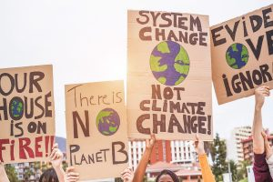 People must force change in climate change agenda