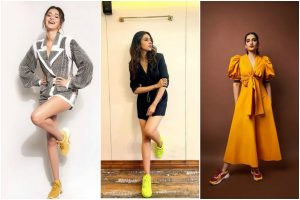 B-town divas nailing 90's 'Chunky Sneaker Look'
